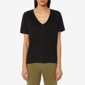 Polo Ralph Lauren Women's V Neck T-Shirt - Black