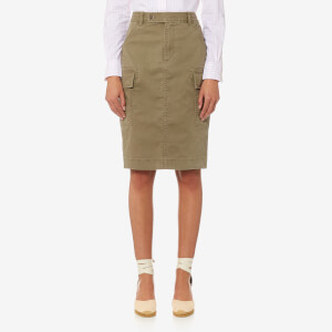 Polo Ralph Lauren Women's Cargo Pencil Skirt - Khaki