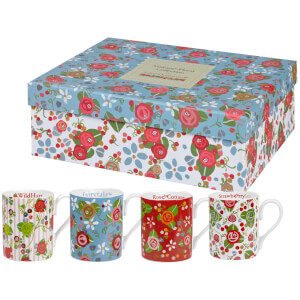 Caravan Trail Hippie Floral Tea For Two Gift Set