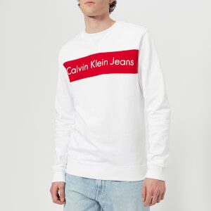 Calvin Klein Men's Hayo 1 Sweatshirt - Bright White