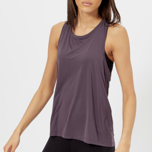 Reebok Women's Perforated Tank Top - Smoky Volcano