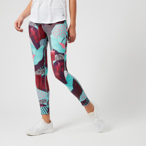 Reebok Women's Lux Bold Tights - Turquoise