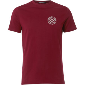Friend or Faux Men's Tremer T-Shirt - Burgundy