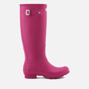 Hunter Women's Original Tall Wellies - Dark Ion Pink