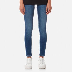 Calvin Klein Women's Mid Rise Skinny Jeans - Wonder Mid