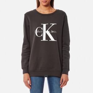Calvin Klein Women's Crew Neck Jumper - Meteorite