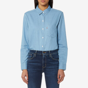 Levi's Women's Sidney 1 Pocket Boyfriend Shirt - Get It together