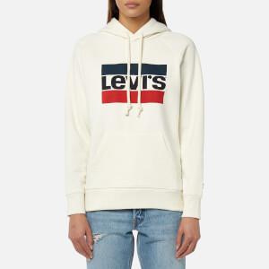 Levi's Women's Graphic Sport Hoody - Sportswear Marshmallow