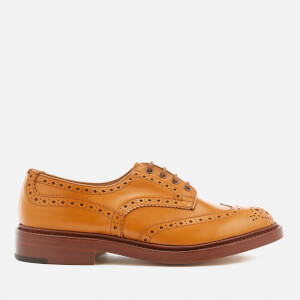Tricker's Men's Bourton Leather Brogues - Acorn Antique