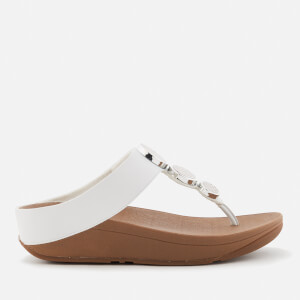 FitFlop Women's Halo Toe Post Sandals - Urban White