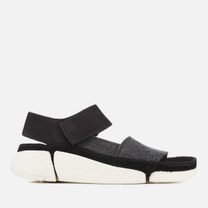 Clarks Originals Women's Trigenic Evo S Nubuck Sandals - Black