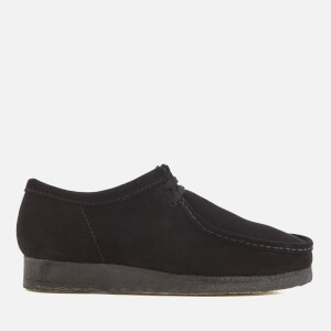 Clarks Originals Men's Wallabee Suede Shoes - Black