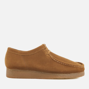 Clarks Originals Men's Wallabee Suede Shoes - Cola