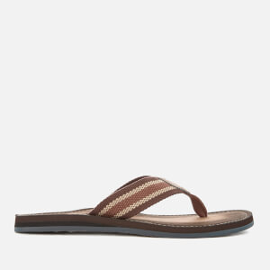 Clarks Men's Lacono Sun Flip Flops - Brown