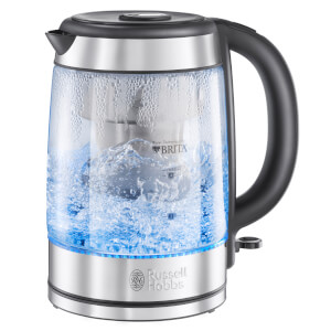 Russell Hobbs 20760-10 Purity Brita Schott Glass Kettle 1L