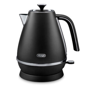 De'Longhi KBI3001.BK Distinta Kettle - Black Finish