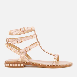 Ash Women's Poison Studded Gladiator Sandals - Rame