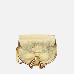 The Cambridge Satchel Company Women's Mini Tassel Bag - Gold Lizard