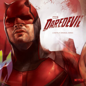 "Zavvi Exclusive Marvel Daredevil 7"""" Vinyl"