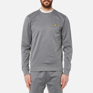 Lyle & Scott Men's Thompson Fleece Crew Neck Sweatshirt - Grey