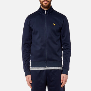 Lyle & Scott Men's Steel Funnel Neck Zip Through Sweatshirt - Navy