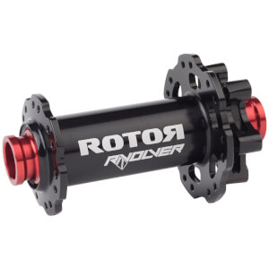 Rotor RVOLVER Front Hub Disc I.S Boost - 28H, TH 15 x 110mm