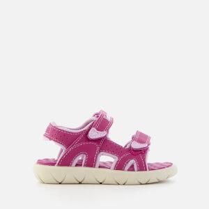 Timberland Toddlers' Perkins Row 2-Strap Sandals - Medium Pink