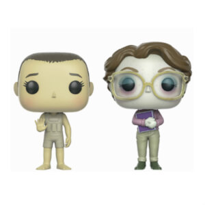 Stranger Things Eleven and Barb Upside Down ECCC 2017 EXC Pop! Vinyl Figure 2-Pack