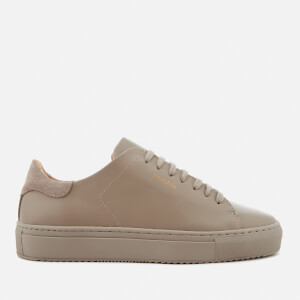 Axel Arigato Women's Clean 90 Monochrome Leather Trainers - Taupe