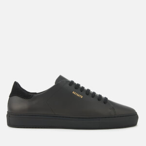 Axel Arigato Men's Clean 90 Leather Cupsole Trainers - Black