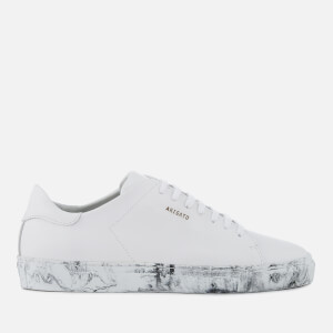 Axel Arigato Men's Clean 90 Leather Trainers - White/Marble Sole