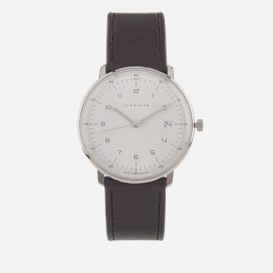 Junghans Men's Max Bill Quartz Watch - White/Brown