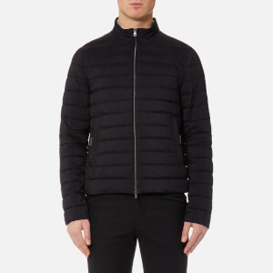 Herno Men's Luxury Padded Bomber Jacket - Black