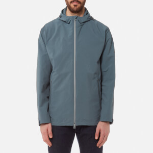 Herno Men's Plaster Hooded Jacket - Petrol