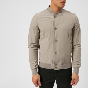 Herno Men's Lightweight Bomber Jacket - Stone