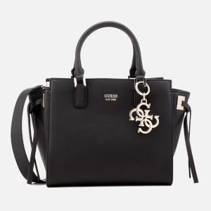 Guess Women's Digital Status Satchel - Black