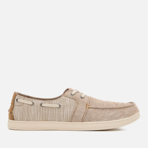 TOMS Men's Culver Chambray Boat Shoes - Toffee