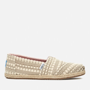 TOMS Women's Alpargata Tribal Print Espadrilles - Oxford Tan
