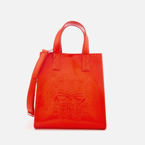 KENZO Women's Icon Mini Tote Bag - Medium Red