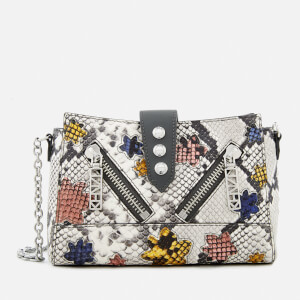 KENZO Women's Kalifornia Mini Shoulder Bag - Anthracite