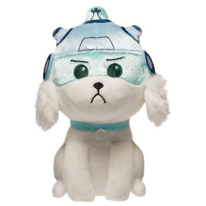 Peluche Rick y Morty - Snowball con Casco - Galactic Plush