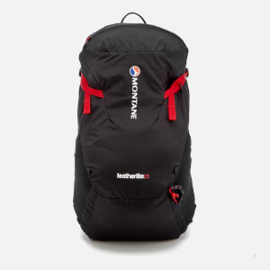 Montane Men's Featherlite 23 Backpack - Black/Alpine Red