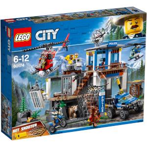 LEGO City Police : Le poste de police de montagne (60174)