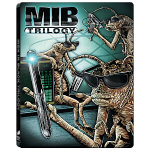 Trilogie Men In Black 4k Ultra HD (+Blu-ray standard) - Steelbook Édition Limitée Exclusivité Zavvi
