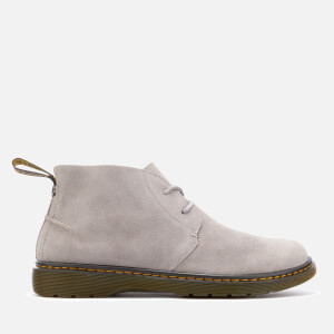 Dr. Martens Men's Ember Bronx Suede Lace Low Boots - Mid Grey