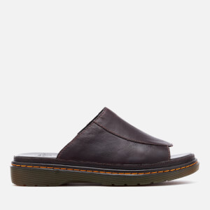 Dr. Martens Men's Achava Overdrive Slide Sandals - Dark Brown