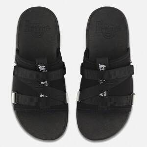 Dr. Martens Nerida Neoprene Webbing Slide Sandals - Black: Image 3