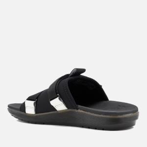 Dr. Martens Nerida Neoprene Webbing Slide Sandals - Black: Image 6