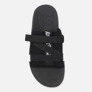 Dr. Martens Nerida Neoprene Webbing Slide Sandals - Black: Image 5