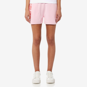 KENZO Women's Light Cotton Molleton Shorts - Flamingo Pink